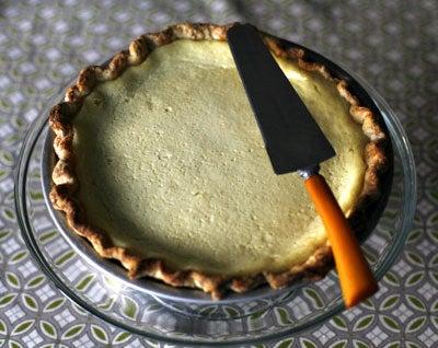 Praiseworthy Cardamom Pie
