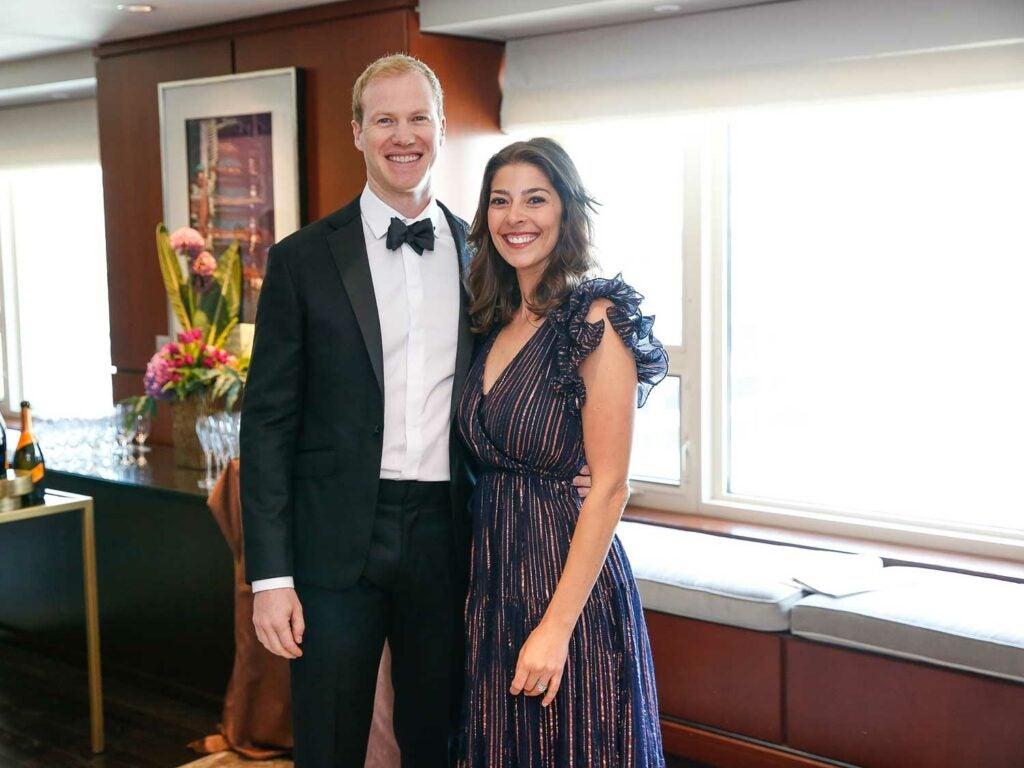 Stacy Adimando and her husband Steve Graf