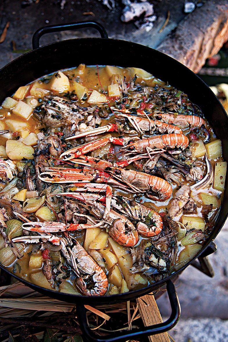 Croatian Fish Stew
