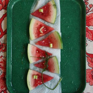Russian Pickled Watermelon