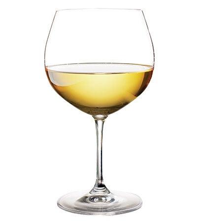 Chardonnay wine glass