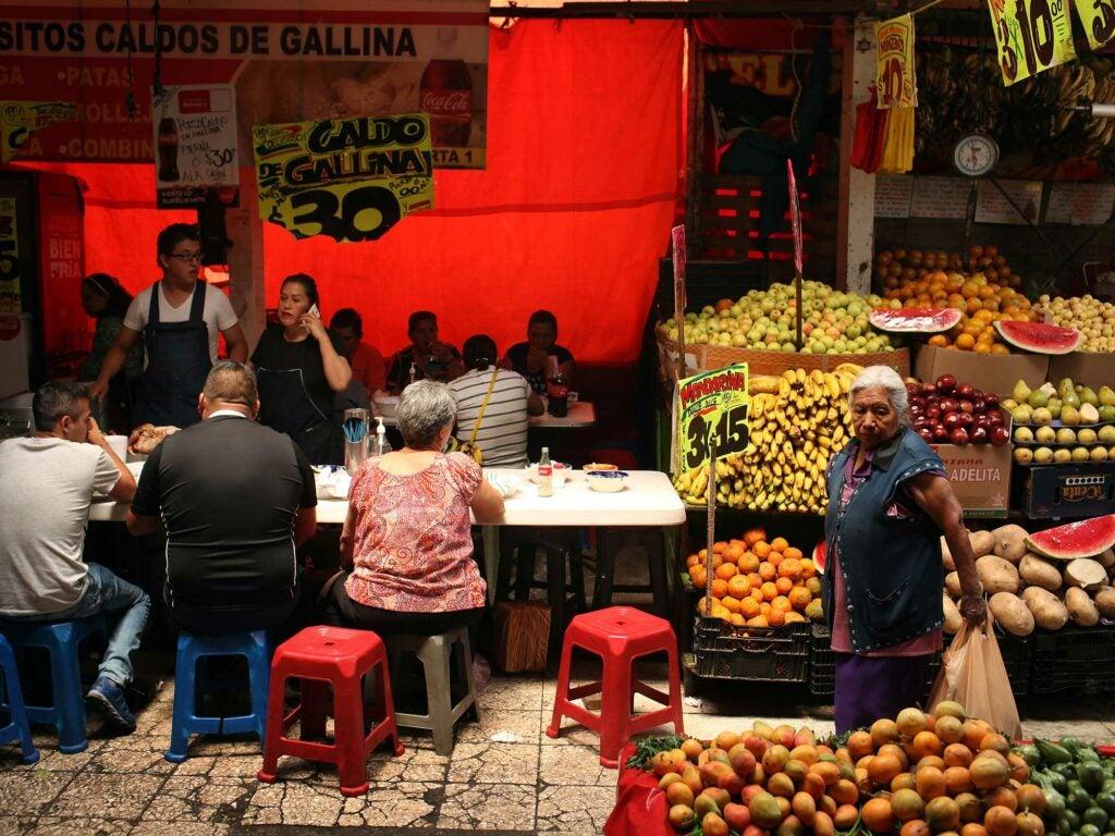 Mercado Merced Soup Vendor