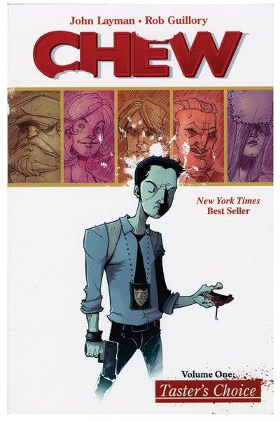 Chew comic book
