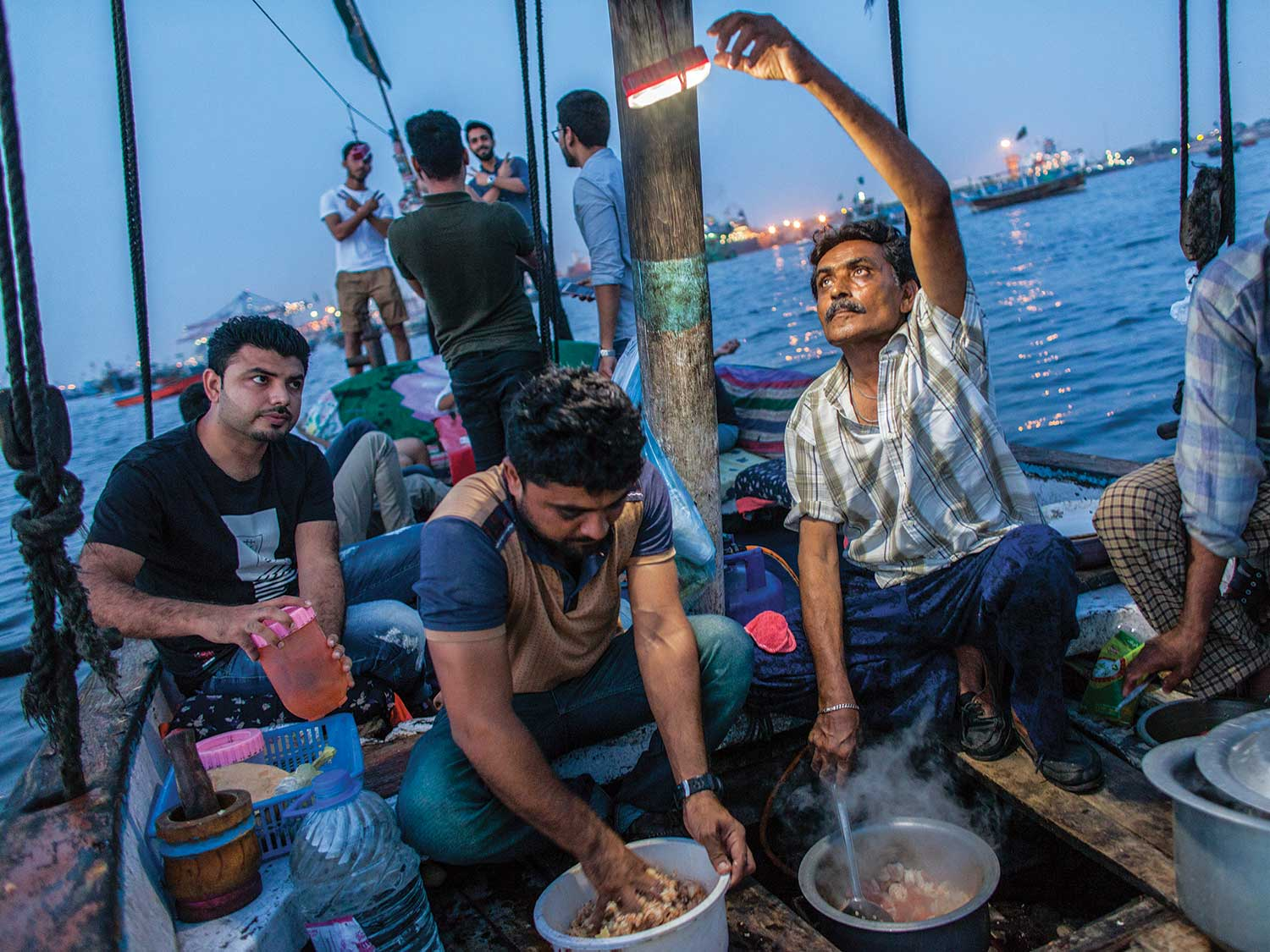 The Disappearing Karachi Dinner Cruise