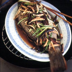 Steamed Sea Bass or Parrotfish