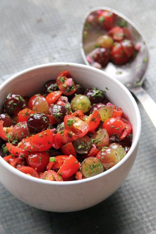 Grape salsa