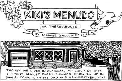 Recipe Comix: Kiki's Menudo