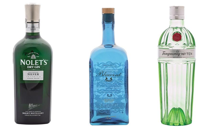 gin, fruity, bright