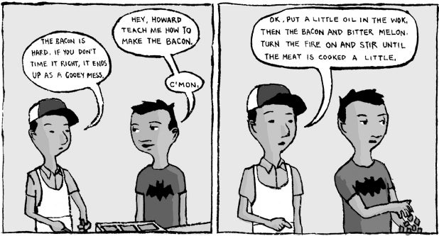 Recipe Comix: Thrice-Cooked Bacon