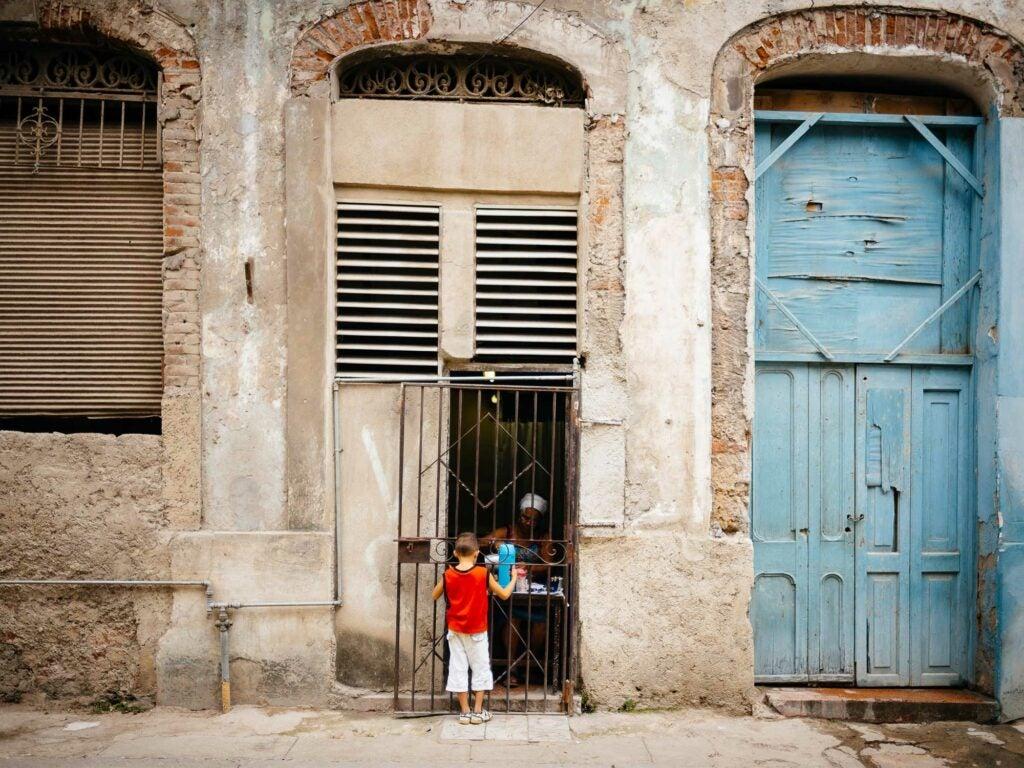 Cuban coffee window