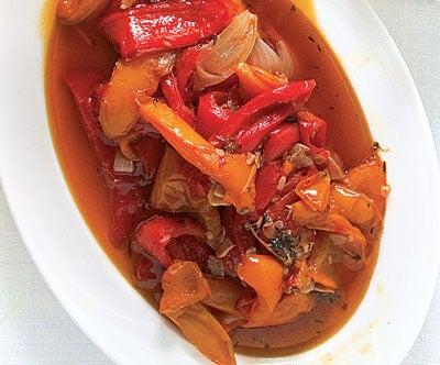 Stewed Sweet Peppers (Peperonata)