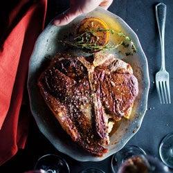 Menu: A Classic Steakhouse Dinner