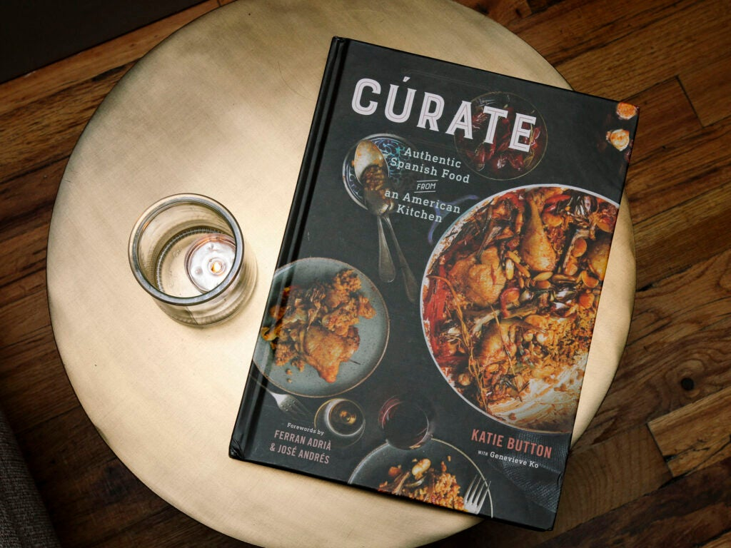 The Cúrate cookbook came out last month.
