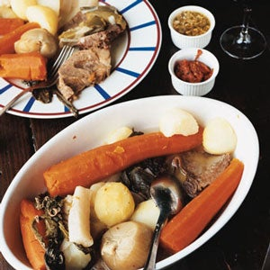 Pot-au-Feu (Boiled Beef Dinner)