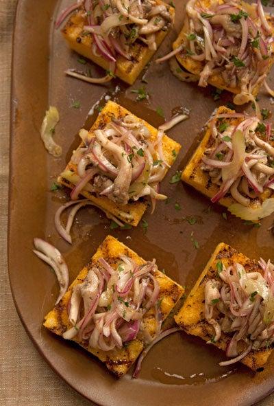 Marinated Mushroom and Onion Salad