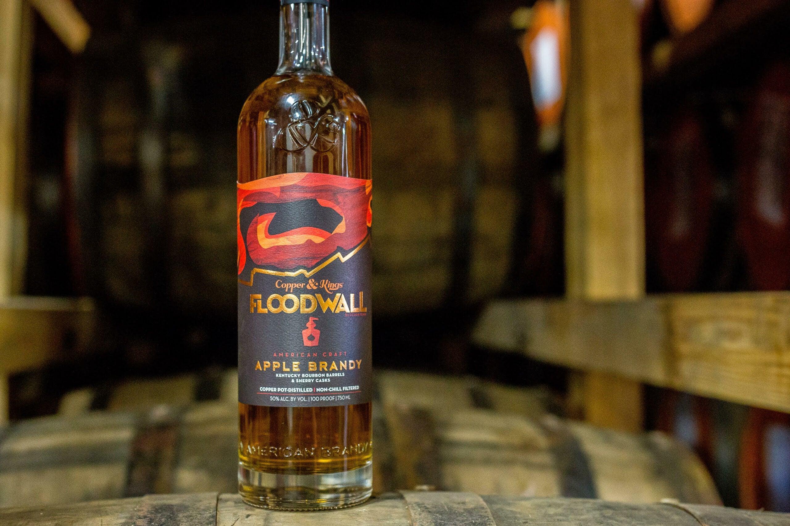 Copper & Kings Floodwall Apple Brandy