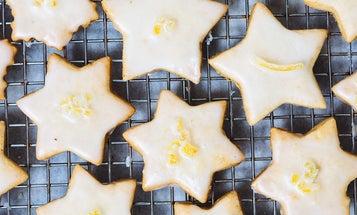 Candied Lemon Cardamom Cookies