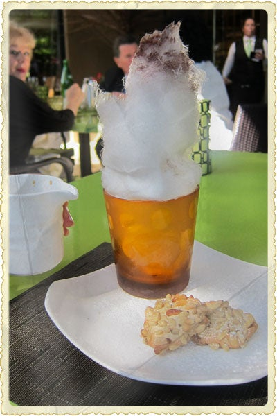 Postcard: Cotton Candy at The Four Seasons in Beverly Hills