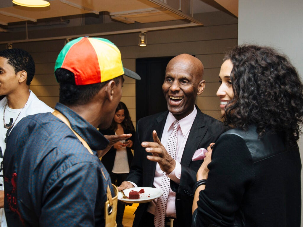 Dapper Dan chats with Marcus Samuelsson
