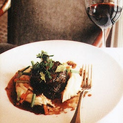 Braised Beef Short Ribs with Potato Purée