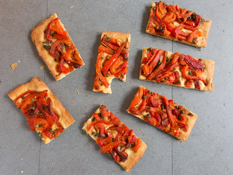 This is a Love Story Between a Man and a Red Pepper Tart