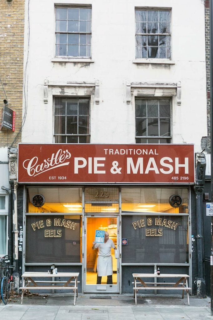 Castle's Pie and Mash