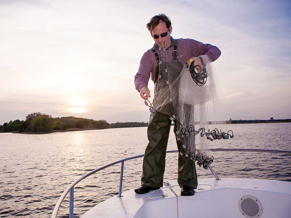 Shrimp Baiting is a Dying Art in South Carolina's Lowcountry