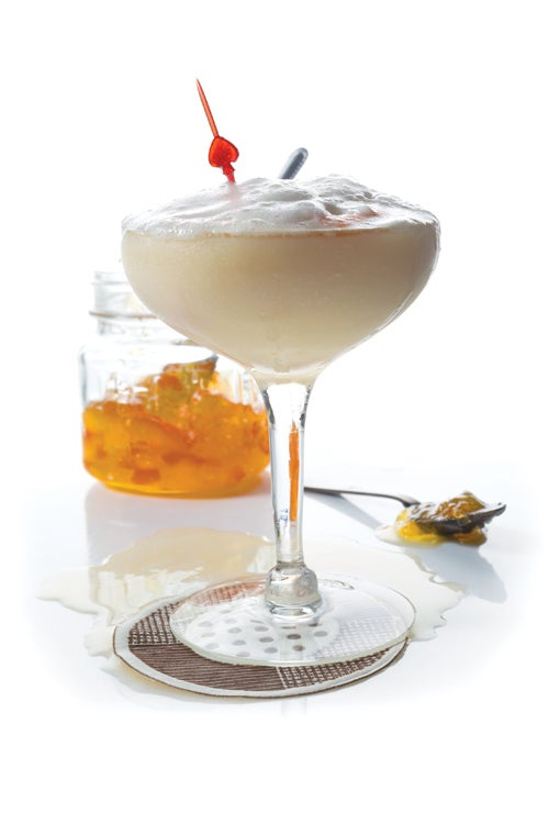 Whiskey Sour with Marmalade