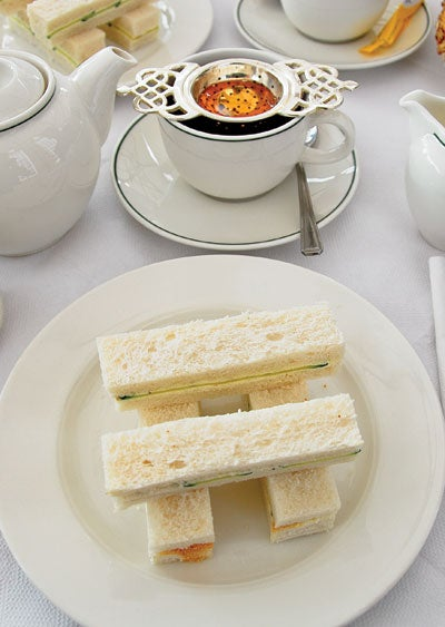 Egg and Watercress Sandwich