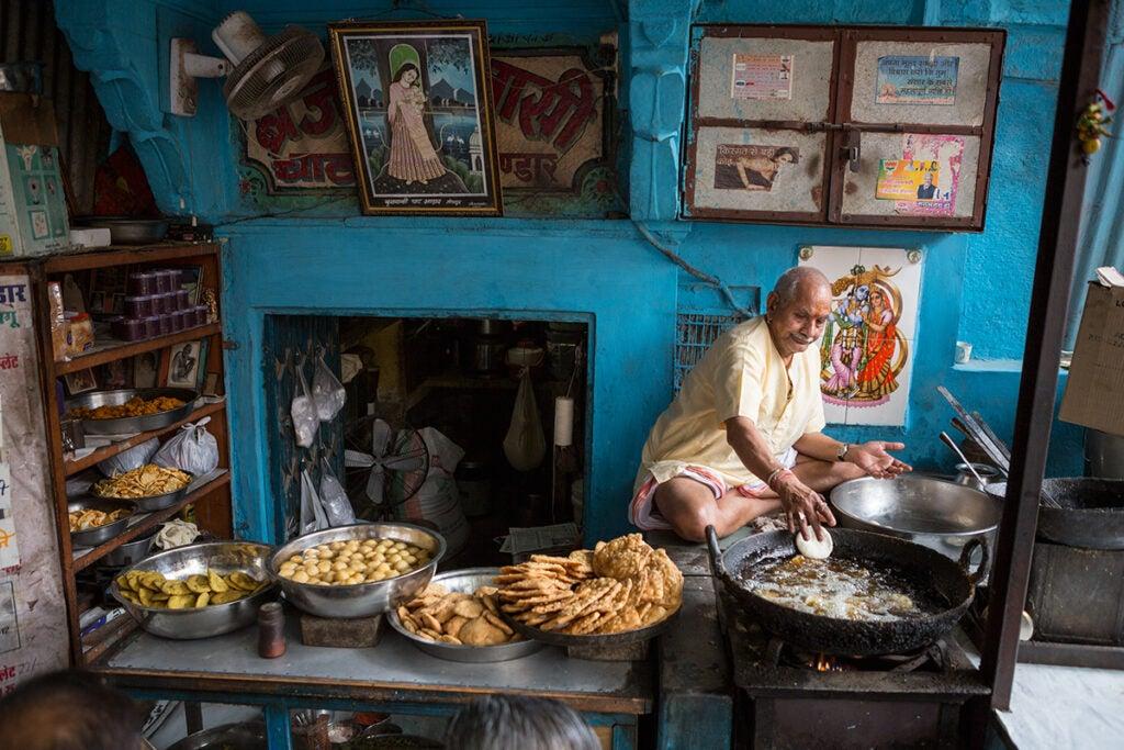 north-india-jadhpur-market