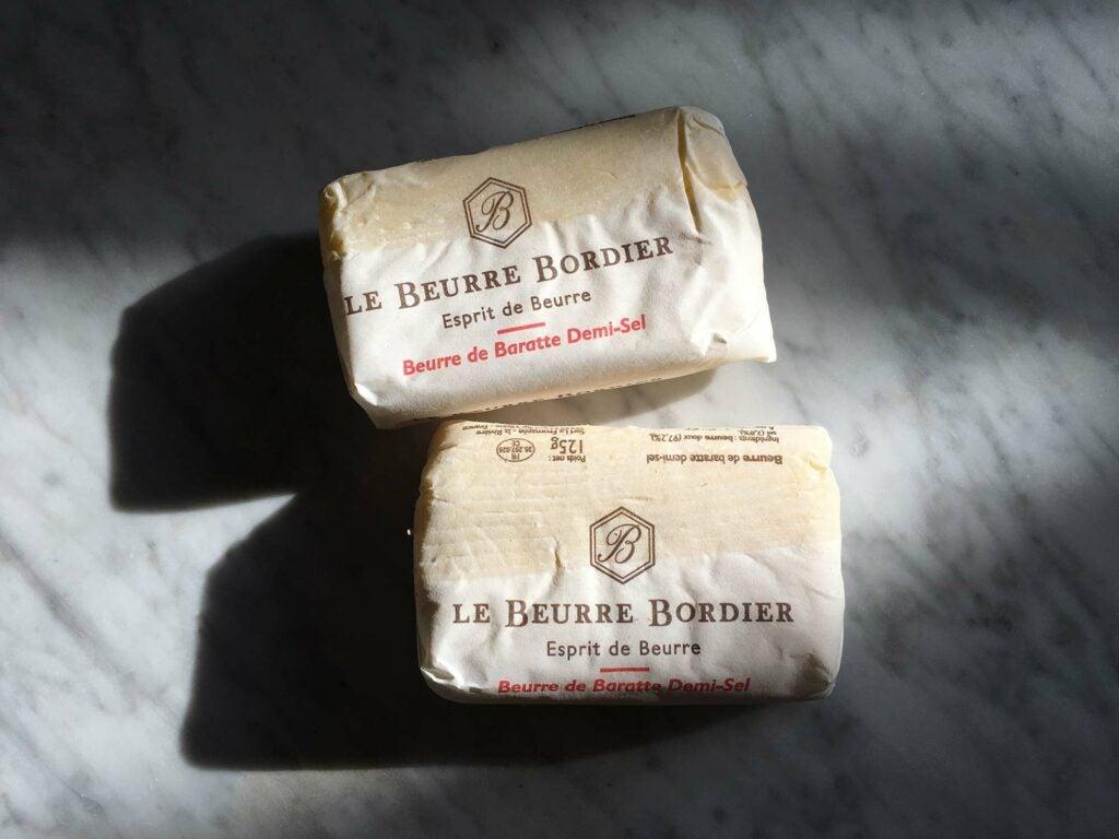 le beurre bordier butter