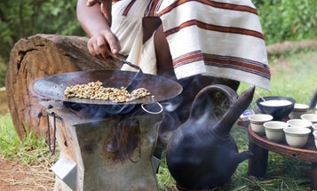 There's Only One Way to Drink Ethiopian Coffee