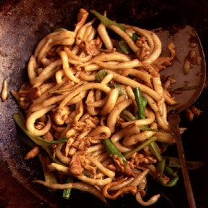 Silver Pin Noodles with Chicken