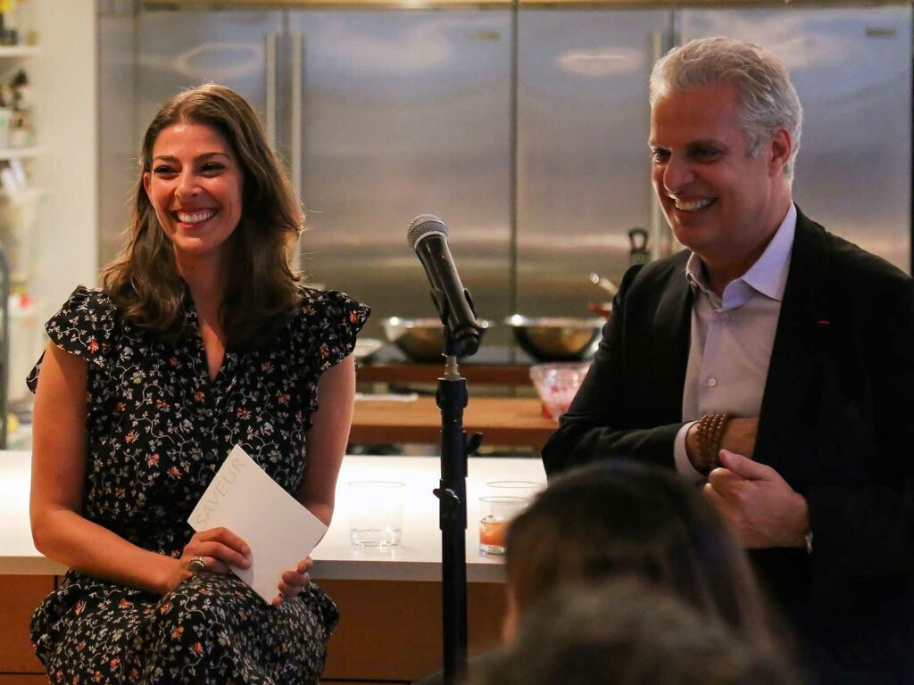 Executive editor Stacy Adimando and chef Eric Ripert chat about all things ocean
