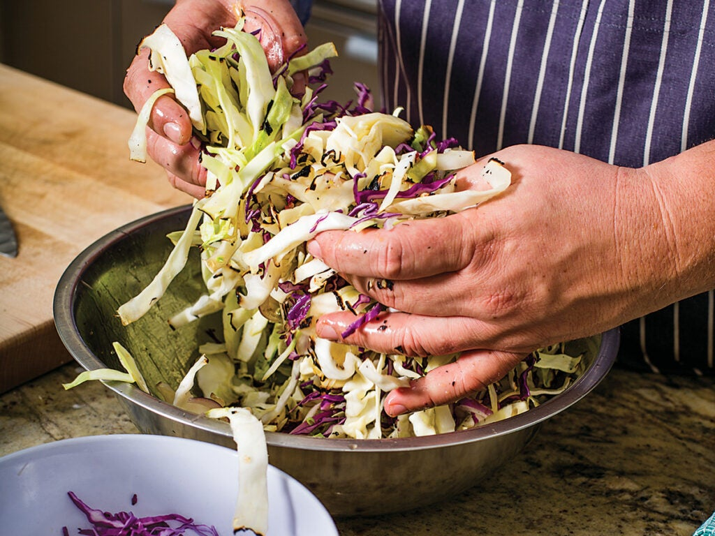 Houston, Chris Shepherd, Grilling, Cabbage Slaw