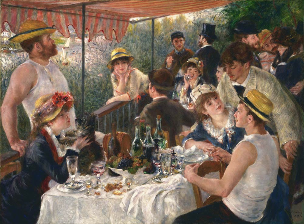 The History of Lunch as Seen in 6 Works of Art