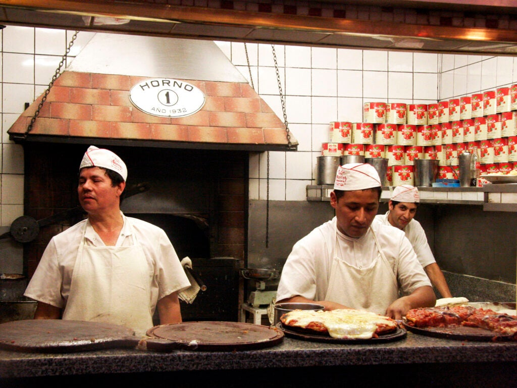 Pizzeria Guerrin in Buenos Aires