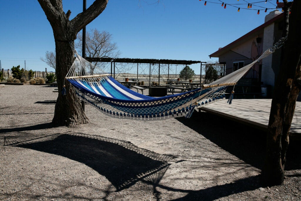 How about a hammock nap?