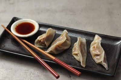Chicken Shui Jiao (Boiled Chicken Dumplings)