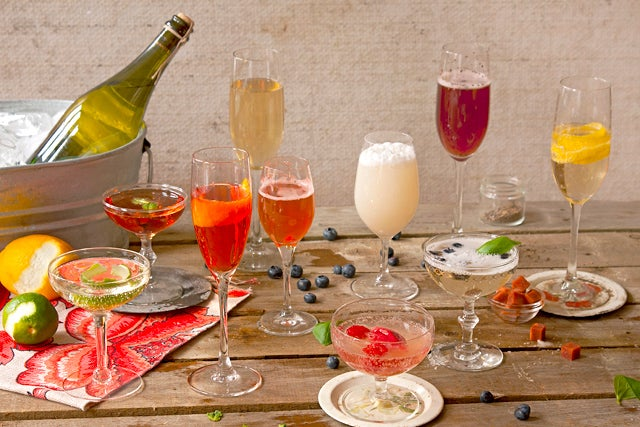 10 Perfect Champagne Cocktails