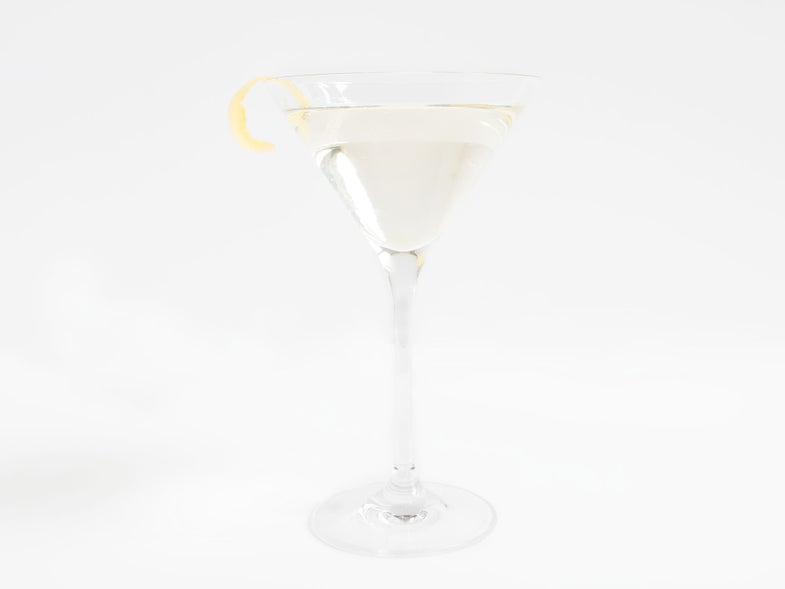 Fifty-Fifty or the Perfect Martini