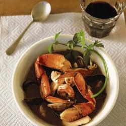 Genoese Cioppino (Genoese Seafood Stew)