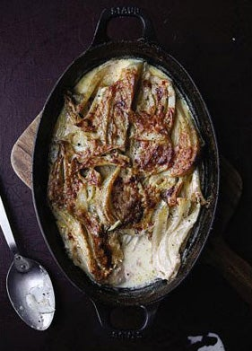 Finocchio al Forno (Fennel Baked in Cream)