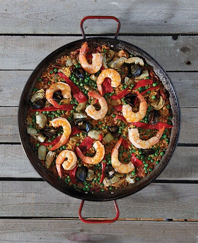 Mixed Paella (Paella Mixta)