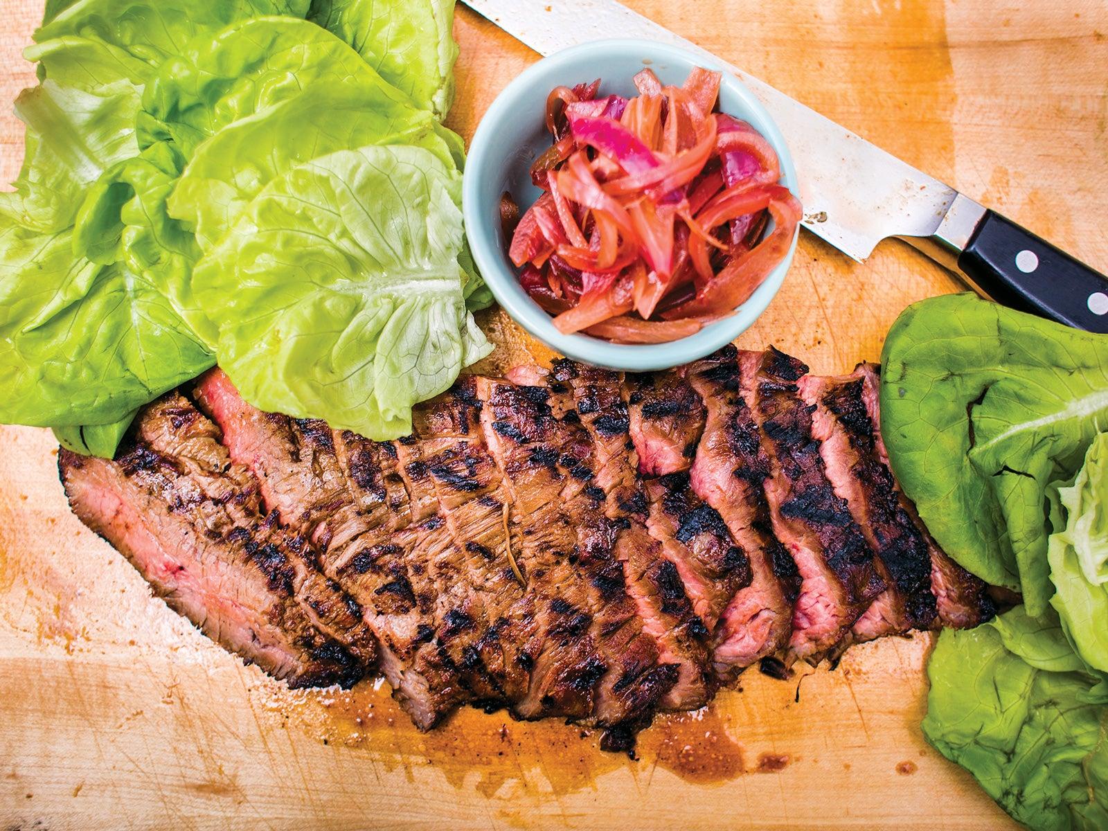 Houston, Chris Shepherd, Grilling, Flank Steak