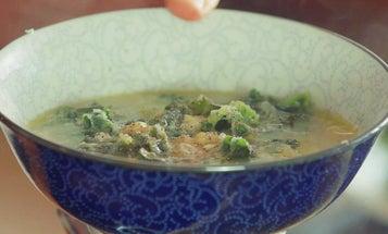Minestrone Soup with Grana Padano Broth