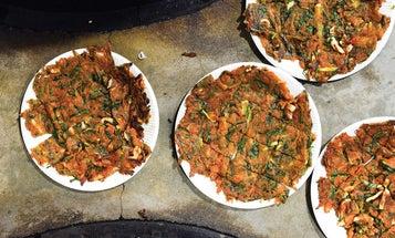 Korean Scallion Pancakes (Pajeon)