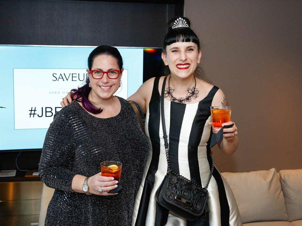 Writer Stacey Ballis and Extra Crispy editor Kat Kinsman
