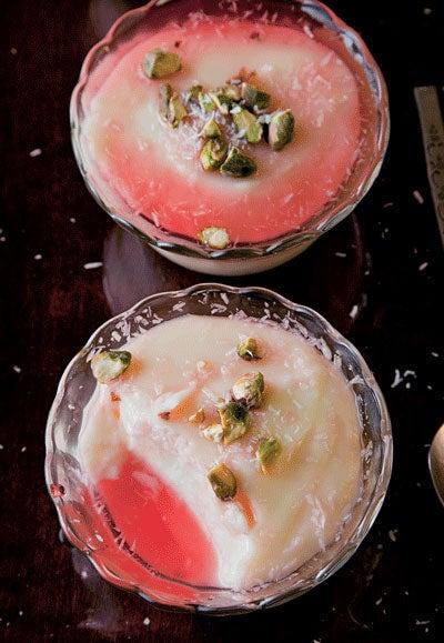 Rose Water Pudding