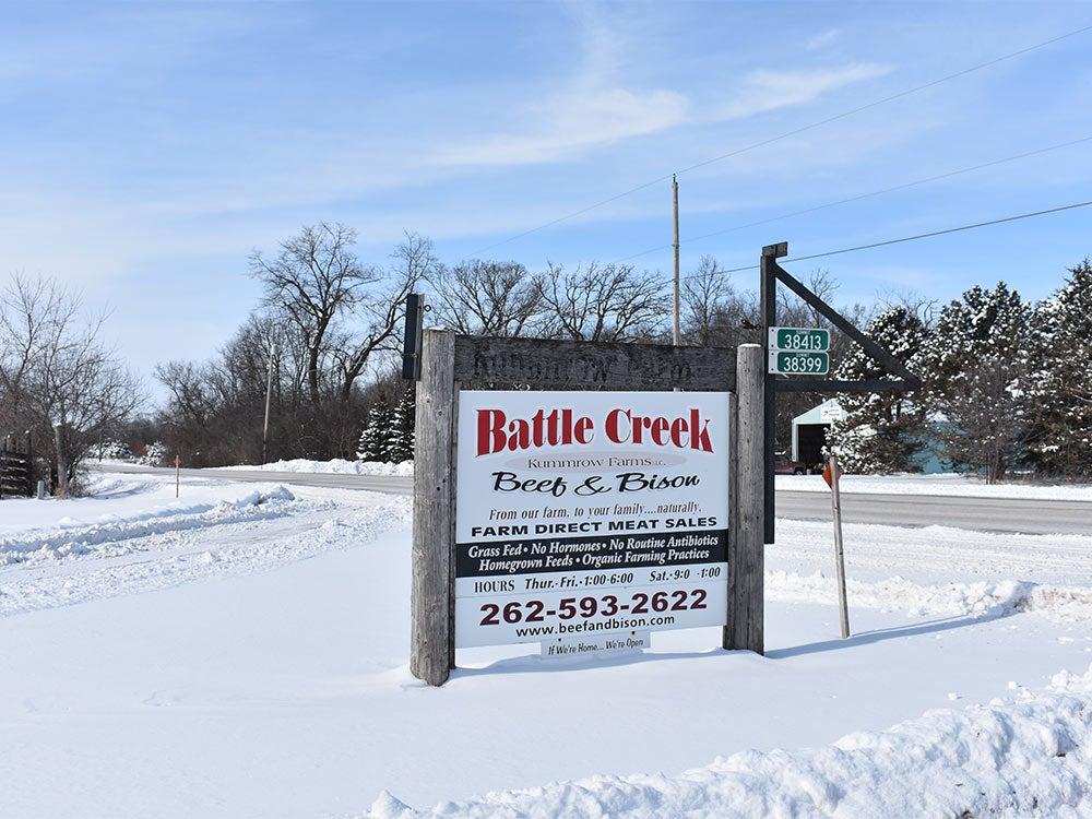 battle creek bison kummrow farms